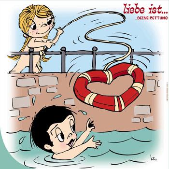 Amor es, caricatura de Kim Casali.