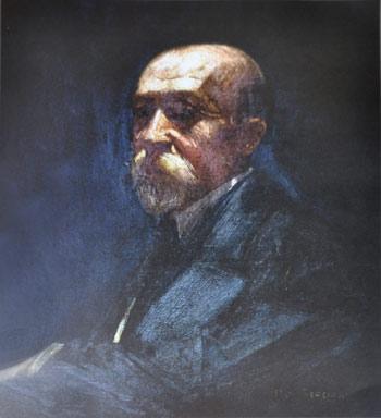 Retrato de Gastón Thoret Jäger (1859–1944).