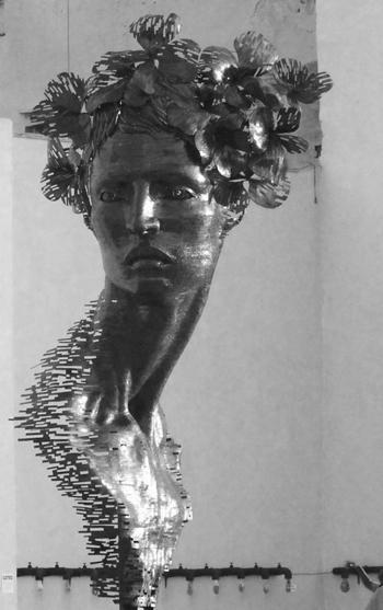Entre las obras presentadas: La perla negra.