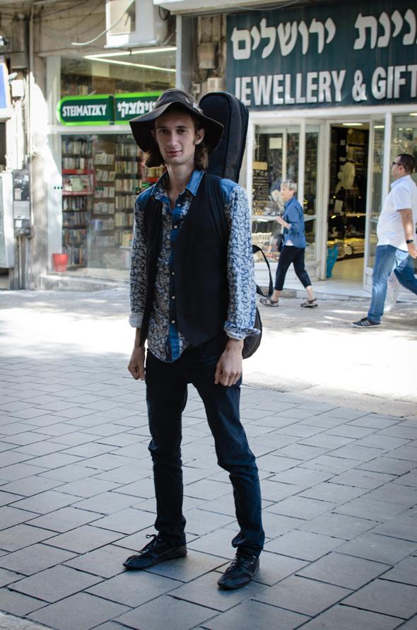 Ilia Ermolaev, 22 años, músico (Jerusalén del oeste)