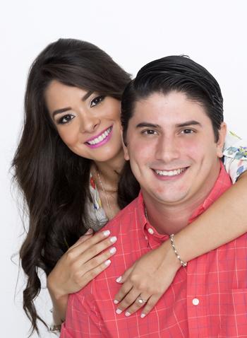 Jorge Rada y Estefanía Hidalgo
