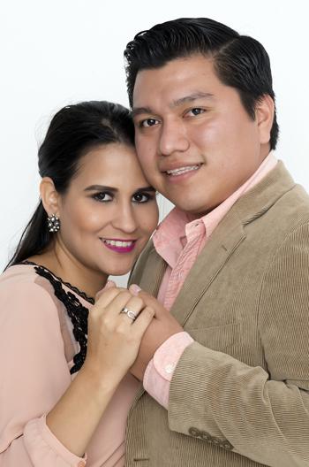 Laura Bermúdez y Oswaldo Mena