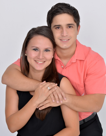 Eric Mercado y Belén Murillo