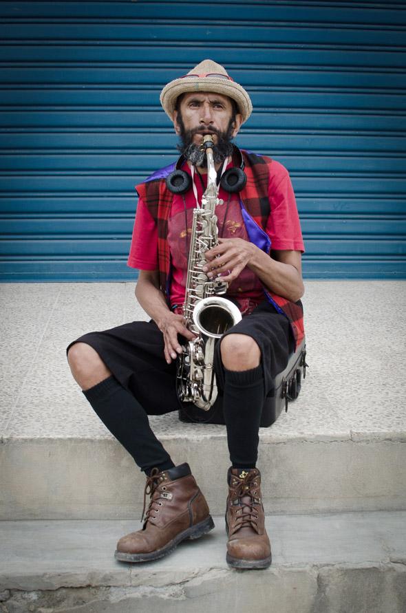 Norman Enrique Arteaga, 52 años, músico