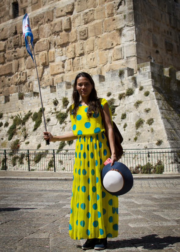 Kim Golbary (Vietnam), 36, guía turística en Jerusalén del Este (Palestina)
