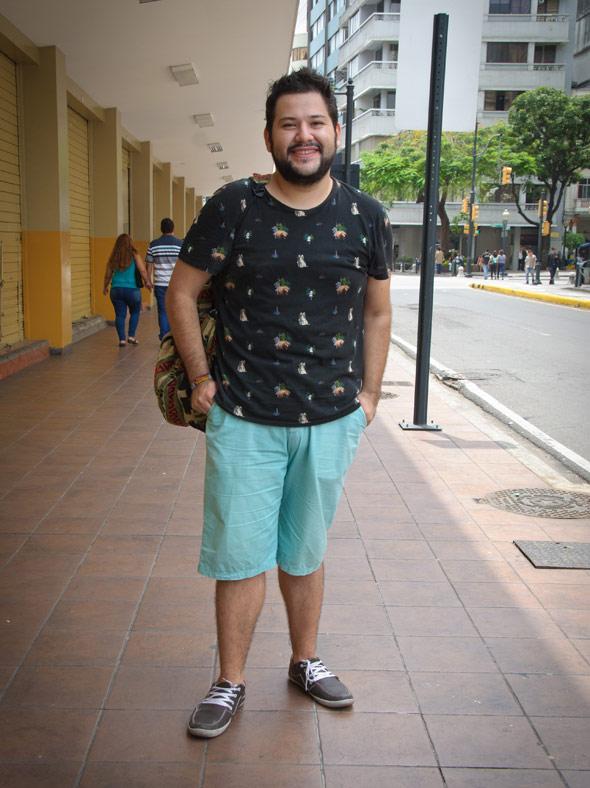 Christian Rojas, 26 años, Estudiante de cine