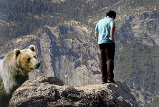 El ateo y el oso