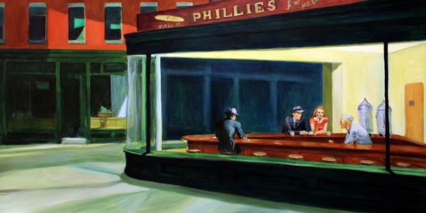 painting nighthawks by edward hopper essay
