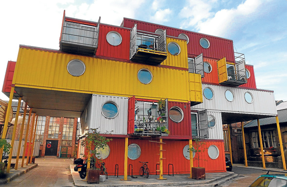 Vivir en cajas vivienda y decoraci n la revista el universo - Contenedores para vivir ...