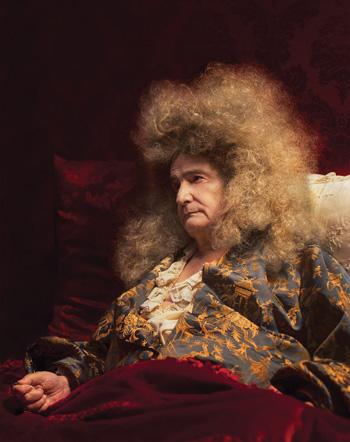 El actor francés Jean-Pierre Léaud es protagonista de La muerte de Luis XIV.