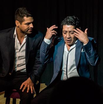 Protagonistas de Una Vida en el Teatro: los actores Marlon Pantaleón.