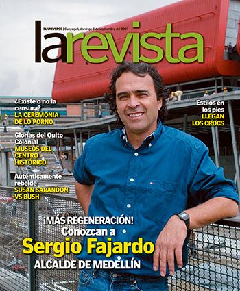 Sergio Fajardo en la portada de La Revista del 9 de septiembre de 2007.