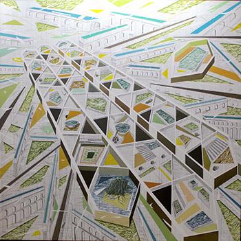 Physis del artista ecuatoriano Andrés Velásquez Dután.