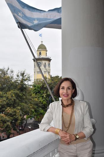 Gloria Gallardo es presidenta de la Empresa Pública Municipal de Turismo.