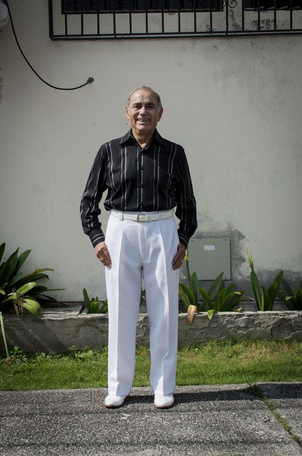 Jorge Murillo Córdova, 80 años, disfruta de su jubilación