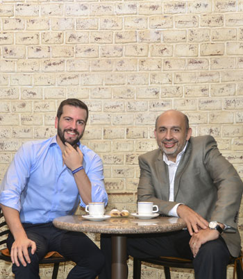 Pablo Arosemena Marriott y Pablo Lucio Paredes.