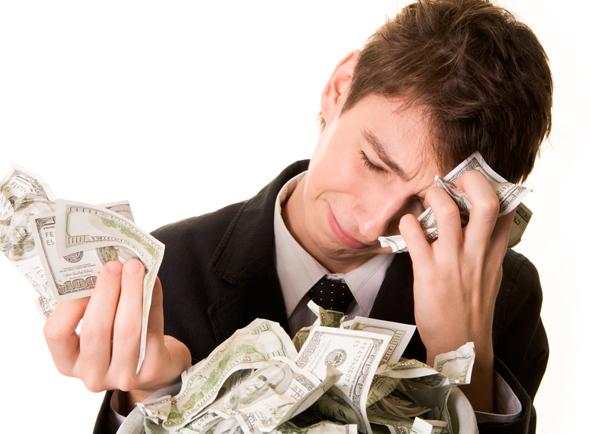 Resultado de imagen para estres por dinero
