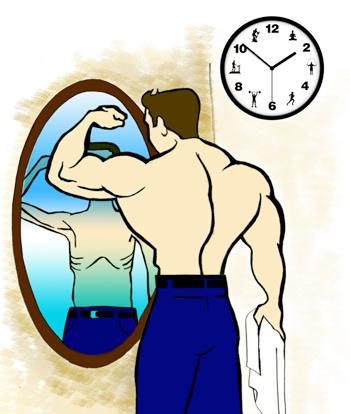 Cuando ejercitarse es una obsesi n psicolog a la for Espejo que no invierte la imagen