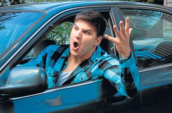 Resultado de imagen para gente agresiva al volante