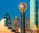 Arquitectura. La ciudad de Dallas y sus modernos edificios.