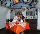 Hugo Gaibor y Kristel Carrera se comprometieron en la Trattoria.