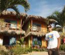 Carlos Floreano cuenta con seis habitaciones frente al mar.