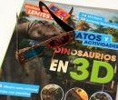 Libro de actividades  Dinosaurios en 3D para aprender de estos animales extintos