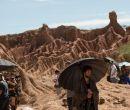 La filmación tiene lugar en paisajes de esta región.
