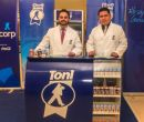 Fernando Andrade (i) y Alejandro Núñez, expertos en nutrición de Toni.
