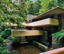 La Casa de la cascada es la obra que mejor representa la arquitectura orgánica.