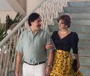 En una escena de Loving Pablo: Pablo Escobar (Javier Bardem) y Virginia Vallejo
