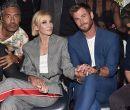 Elenco de Thor-Ragnarok: Mark Ruffalo, Taika Waititi, Cate Blanchett, Chris Hems
