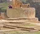 El complejo arqueológico de Ingapirca, ubicado en la provincia de Cañar, se ubic