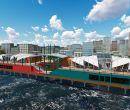 El Mercado del Río tendrá dos naves, con 14 y 13 locales.