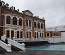 La planta de Machachi tiene piscinas minerales para el público.