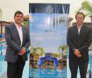 Allí estuvieron el gerente general, Sergio Duarte; y el gerente de ventas.