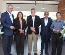 Durante el evento estuvieron: Ernesto Weisson y Soraya Mora, ejecutivos de Banco