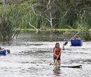 El espejo de agua de Laguna Park tiene 6 hectáreas navegables.