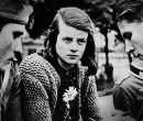 Líderes del movimiento Rosa Blanca: Hans Scholl, Sophie Scholl.