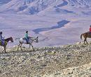 Los paseos a caballo son parte de las actividades en esta zona.