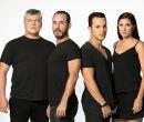 El elenco: Fernando Gálvez (P), Fabo Doja (H), Ricardo Velástegui (Juan)