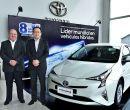 Allí estuvieron Luis Baca, director comercial de Toyota del Ecuador.