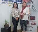 Durante la actividad estuvieron Verónica Roldán, gerente división OTC; y Mary Co