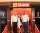 Allí estuvieron Galo Rubio López, gerente general de Baterías Ecuador; Luz Marin