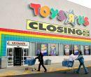 La juguetería liquidó todo durante su cierre.