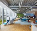 El ecosistema de espacios ofrece zonas diseñadas según las necesidades.