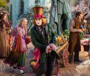 Los personajes centrales del filme: El Sombrerero Loco ( Johnny Depp) y Alicia (