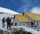 Refugio en el volcán Cotopaxi, a 4.864 metros.
