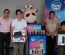 En la foto: Arturo Sicouret (i), gerente general de Maruri Digital; y Andrea Sil