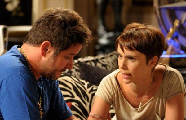 Débora Falabella (d) es la actual pareja del actor brasileño.